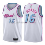Camisetas Baloncesto NBA Miami Heat 2018  James Johnson 16# City Edition..