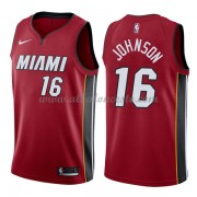 Camisetas Baloncesto NBA Miami Heat 2018  James Johnson 16# Statement Edition..