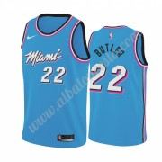 Camisetas Baloncesto NBA Miami Heat 2019-20 Jimmy Butler 22# Azul City Edition Swingman..