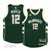 Camisetas Baloncesto Niños Milwaukee Bucks 2015-16 Jabari Parker 12# NBA Road..