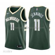 Camisetas Baloncesto Niños Milwaukee Bucks 2018 Brandon Jennings 11# Icon Edition..