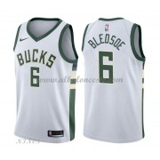 Camisetas Baloncesto Niños Milwaukee Bucks 2018 Eric Bledsoe 6# Association Edition..