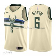 Camisetas Baloncesto Niños Milwaukee Bucks 2018 Eric Bledsoe 6# City Edition..