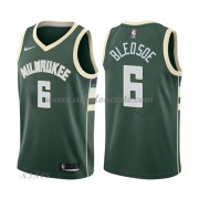 Camisetas Baloncesto Niños Milwaukee Bucks 2018 Eric Bledsoe 6# Icon Edition..