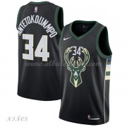 Camisetas Baloncesto Niños Milwaukee Bucks 2018 Giannis Antetokounmpo 34# Statement Edition..