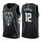 Camisetas Baloncesto Niños Milwaukee Bucks 2018 Jabari Parker 12# Statement Edition..