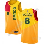 Camisetas NBA Niños Milwaukee Bucks 2019-20 Eric Bledsoe 6# Amarillo City Edition Swingman..