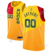 Camisetas NBA Niños Milwaukee Bucks 2019-20 Amarillo City Edition Swingman..