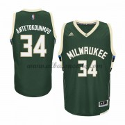 Camisetas Baloncesto NBA Milwaukee Bucks 2015-16 Giannis Antetokounmp 34# Road..