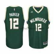 Camisetas Baloncesto NBA Milwaukee Bucks 2015-16 Jabari Parker 12# Road..