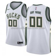 Camisetas Baloncesto NBA Milwaukee Bucks 2018  Association Edition..