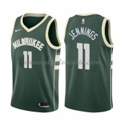 Camisetas Baloncesto NBA Milwaukee Bucks 2018  Brandon Jennings 11# Icon Edition..