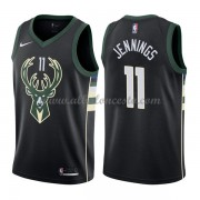 Camisetas Baloncesto NBA Milwaukee Bucks 2018  Brandon Jennings 11# Statement Edition..
