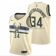 Camisetas Baloncesto NBA Milwaukee Bucks 2018  Giannis Antetokounmpo 34# City Edition..
