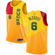 Camisetas Baloncesto NBA Milwaukee Bucks 2019-20 Eric Bledsoe 6# Amarillo City Edition Swingman..