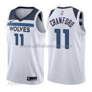 Camisetas Baloncesto Niños Minnesota Timberwolves 2018 Jamal Crawford 11# Association Edition..