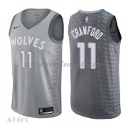 Camisetas Baloncesto Niños Minnesota Timberwolves 2018 Jamal Crawford 11# City Edition..