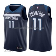 Camisetas Baloncesto Niños Minnesota Timberwolves 2018 Jamal Crawford 11# Icon Edition..