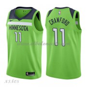 Camisetas Baloncesto Niños Minnesota Timberwolves 2018 Jamal Crawford 11# Statement Edition..