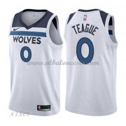 Camisetas Baloncesto Niños Minnesota Timberwolves 2018 Jeff Teague 0# Association Edition..