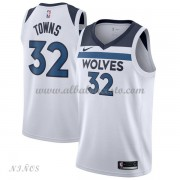 Camisetas Baloncesto Niños Minnesota Timberwolves 2018 Karl Anthony Towns 32# Association Edition..