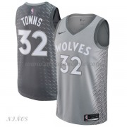 Camisetas Baloncesto Niños Minnesota Timberwolves 2018 Karl Anthony Towns 32# City Edition..