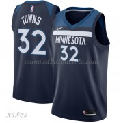 Camisetas Baloncesto Niños Minnesota Timberwolves 2018 Karl Anthony Towns 32# Icon Edition..