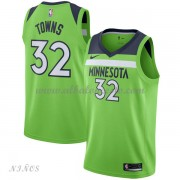 Camisetas Baloncesto Niños Minnesota Timberwolves 2018 Karl Anthony Towns 32# Statement Edition..