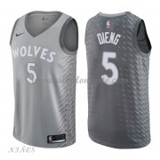 Camisetas Baloncesto Niños Minnesota Timberwolves 2018 Karl Gorgui Dieng 5# City Edition..