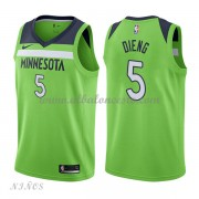 Camisetas Baloncesto Niños Minnesota Timberwolves 2018 Karl Gorgui Dieng 5# Statement Edition..