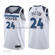 Camisetas Baloncesto Niños Minnesota Timberwolves 2018 Karl Justin Patton 24# Association Edition..