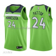 Camisetas Baloncesto Niños Minnesota Timberwolves 2018 Karl Justin Patton 24# Statement Edition..