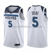 Camisetas Baloncesto NBA Minnesota Timberwolves 2018  Karl Gorgui Dieng 5# Association Edition..