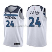 Camisetas Baloncesto NBA Minnesota Timberwolves 2018  Karl Justin Patton 24# Association Edition..