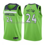 Camisetas Baloncesto NBA Minnesota Timberwolves 2018  Karl Justin Patton 24# Statement Edition..