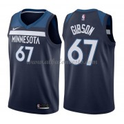 Camisetas Baloncesto NBA Minnesota Timberwolves 2018  Taj Gibson 67# Icon Edition..