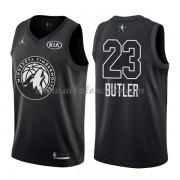 Minnesota Timberwolves Jimmy Butler 23# Black 2018 All Star Game Swingman Basketball Jersey..