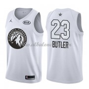 Minnesota Timberwolves Jimmy Butler 23# White 2018 All Star Game Swingman Basketball Jersey..