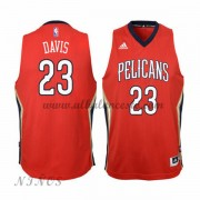 Camisetas Baloncesto Niños New Orleans Pelicans 2015-16 Anthony Davis 23# NBA Alternate..