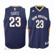 Camisetas Baloncesto Niños New Orleans Pelicans 2015-16 Anthony Davis 23# NBA Road