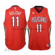 Camisetas Baloncesto Niños New Orleans Pelicans 2015-16 Jrue Holiday 11# NBA Alternate..