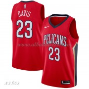 Camisetas Baloncesto Niños New Orleans Pelicans 2018 Anthony Davis 23# Statement Edition..