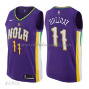 Camisetas Baloncesto Niños New Orleans Pelicans 2018 Jrue Holiday 11# City Edition..