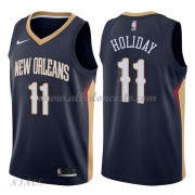 Camisetas Baloncesto Niños New Orleans Pelicans 2018 Jrue Holiday 11# Icon Edition..