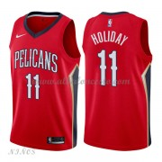 Camisetas Baloncesto Niños New Orleans Pelicans 2018 Jrue Holiday 11# Statement Edition..