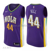 Camisetas Baloncesto Niños New Orleans Pelicans 2018 Solomon Hill 44# City Edition..