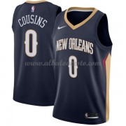 Camisetas Baloncesto NBA New Orleans Pelicans 2018  DeMarcus Cousins 0# Icon Edition..