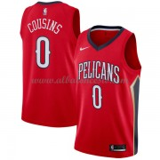 Camisetas Baloncesto NBA New Orleans Pelicans 2018  DeMarcus Cousins 0# Statement Edition..