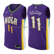 Camisetas Baloncesto NBA New Orleans Pelicans 2018  Jrue Holiday 11# City Edition..