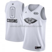 New Orleans Pelicans DeMarcus Cousins 0# White 2018 All Star Game Swingman Basketball Jersey..